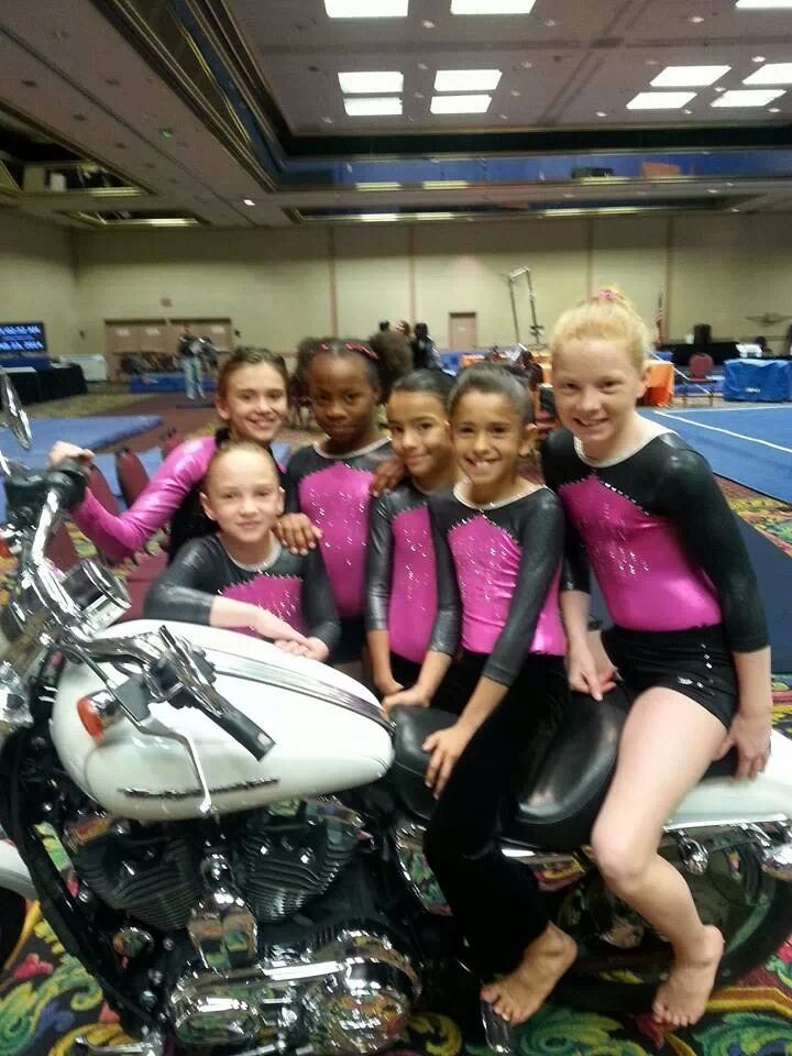 USA competition in Las Vegas- Upper Level Girls